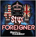 IMAGE Styx, Foreigner, and Don Felder live at Turning Stone this June.