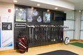 IMAGE Turning Stone announces launch of TaylorMade TaylorMade® Tuned Performance Center. This is the club head wall.