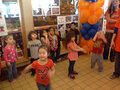 IMAGE Children at the Oneida Nation Early Learning Center host a pep rally