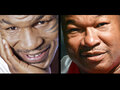 IMAGE Mike Tyson, left, and Larry Holmes, right. The boxing legends appear at Turning Stone June 4.