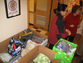 IMAGE Oneida Nation Elders Program Participants donate to CNY Veterans Outreach Center.