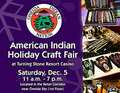 IMAGE Oneida Indian Nation Annual Holiday Craft Fair