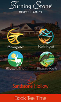 IMAGE Turning Stone Resort Casino Launches Exclusive New Golf App