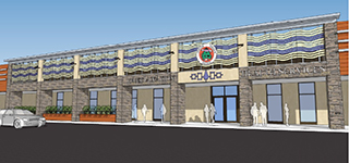 IMAGE Rendering of the new Oneida Nation Health Services Center