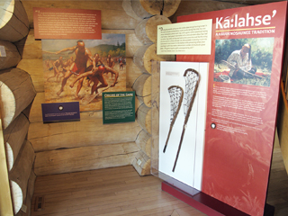 IMAGE Shako:wi Highlights Lacrosse in New Exhibit