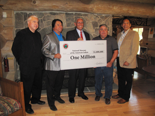 IMAGE Oneida Nation Donation to the Smithsonian National Museum of the American Indian