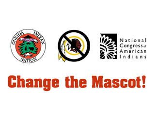 IMAGE Oneida Indian Nation, Change the Mascot, National Congress of American Indians