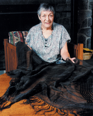 IMAGE: Polly Cooper Shawl