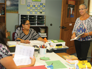 IMAGE Oneida Language classes continue to advance.