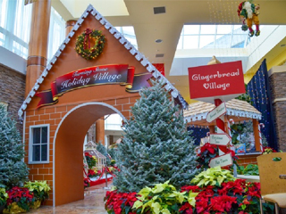 IMAGE Turning Stone's 2015 Gingerbread Village opens Monday, Nov. 23.