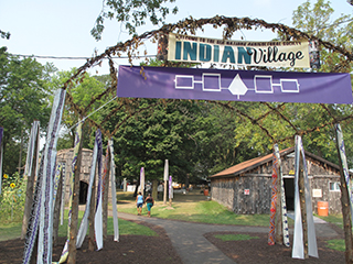 IMAGE Indian Village: Six Nations Agricultural Society, NYS Fair, 2015