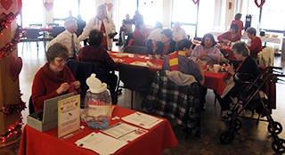 IMAGE Heart Health was the focus at a special Elders' luncheon held Feb. 10, 2016